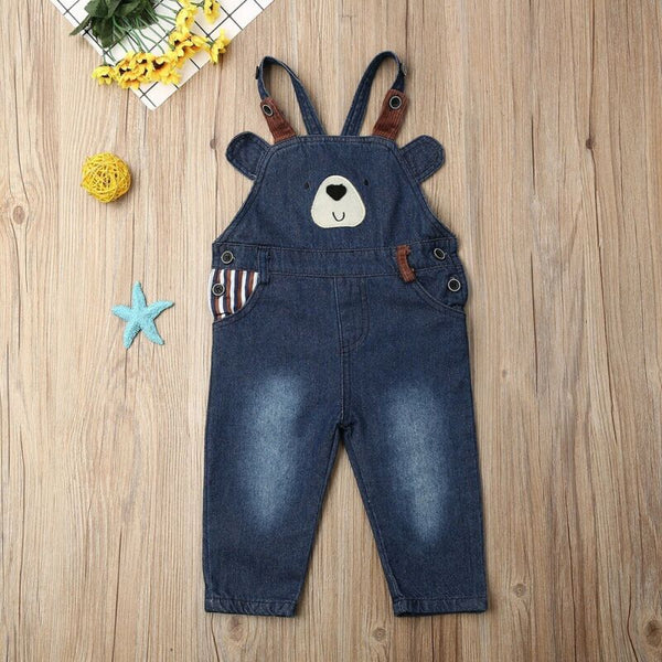 Little Bear Blue Jean Overalls (2T-6Y)