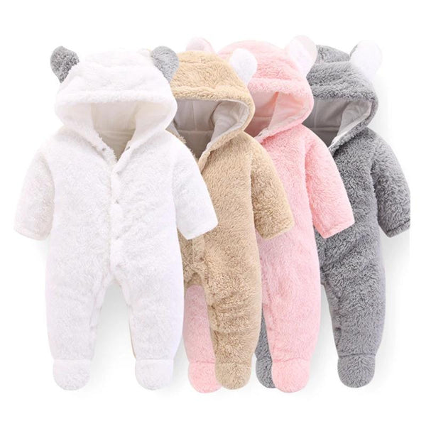 Baby Bear Fleece Snowsuits