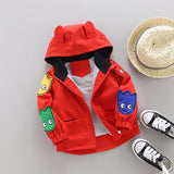 Primary Colors Baby/Toddler Monster Jacket
