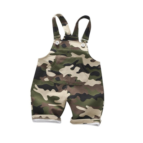 Camouflage Infants Cotton Overalls (6M-3T)