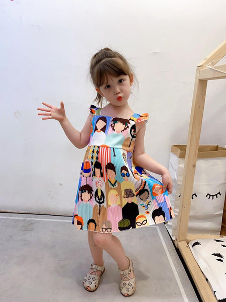 Faces Summer Dress (3T-8Y)