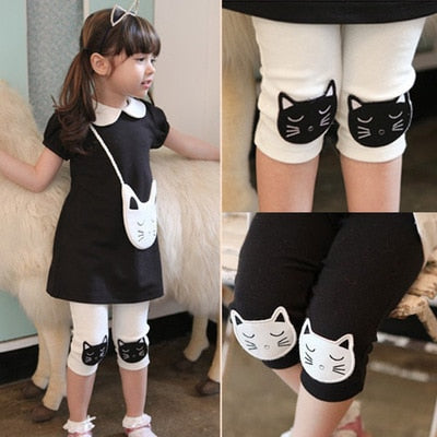 Kitty Cat Capris (2T-10Y)
