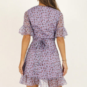 Purple Butterfly Dresses