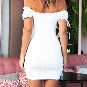 Lantern Sleeve Dress - DreamBoutiquee