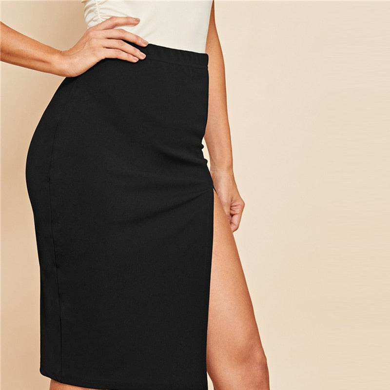 Split Sexy Skirt - DreamBoutiquee