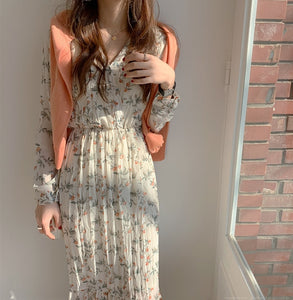 V-neck Long Dresses - DreamBoutiquee