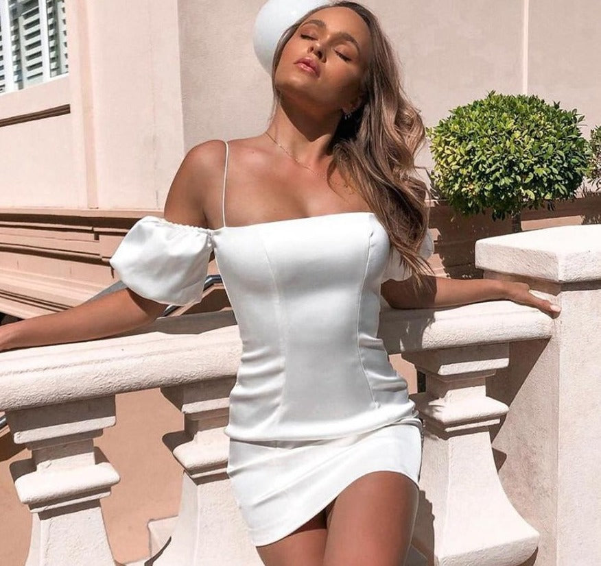 Elegant Off Shoulder Slim Dress