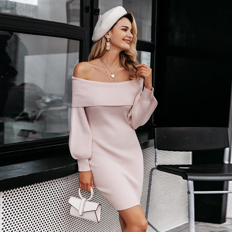 Knitted Chic Dress