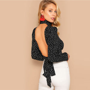 Backless Ladies Tops - DreamBoutiquee