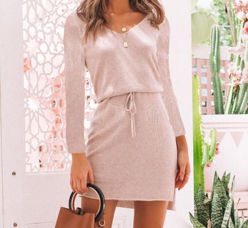 Sashes Casual Dress - DreamBoutiquee