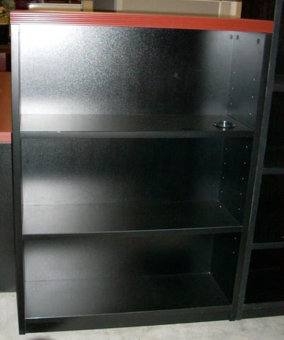 Groupe Lacasse 3-Shelf Bookcase