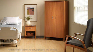 Steelcase Health Davenport Bedside Table | without casters