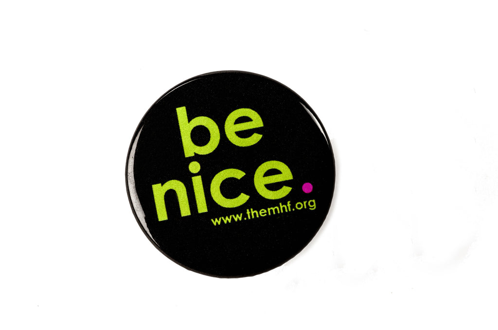 be nice. Button