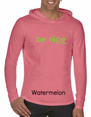 be nice. Watermelon Comfort Colors L/S Hood