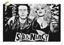 Sid & Nancy Cosmetic Bag