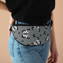 Load image into Gallery viewer, Crimson Butterfly Fanny Pack