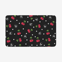Load image into Gallery viewer, Cherry Skull Door mat
