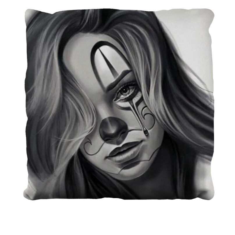 Clown Decorative Pillow