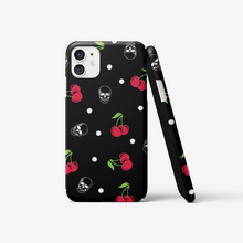 Load image into Gallery viewer, Cherry skull phone case