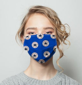 All Star Blue mask