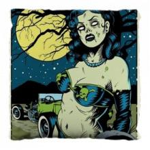 Load image into Gallery viewer, Zombie pin up pillow
