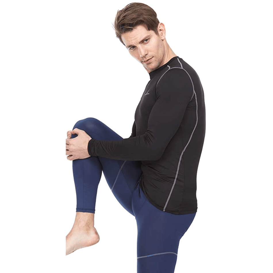 Athletic  Compression Shirt - Long Sleeve Set-In - Thermaljbrands