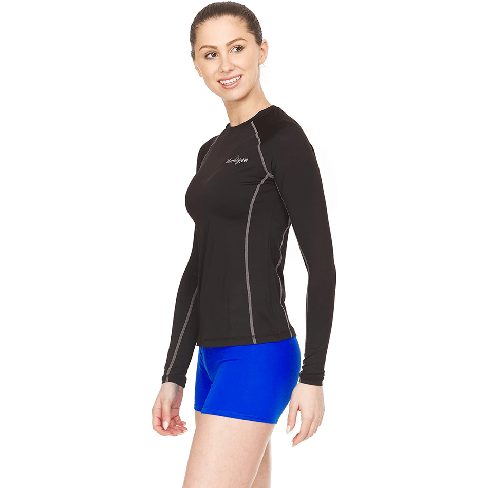 Women's Athletic Compression Shirt - Long Sleeve - Thermaljbrands