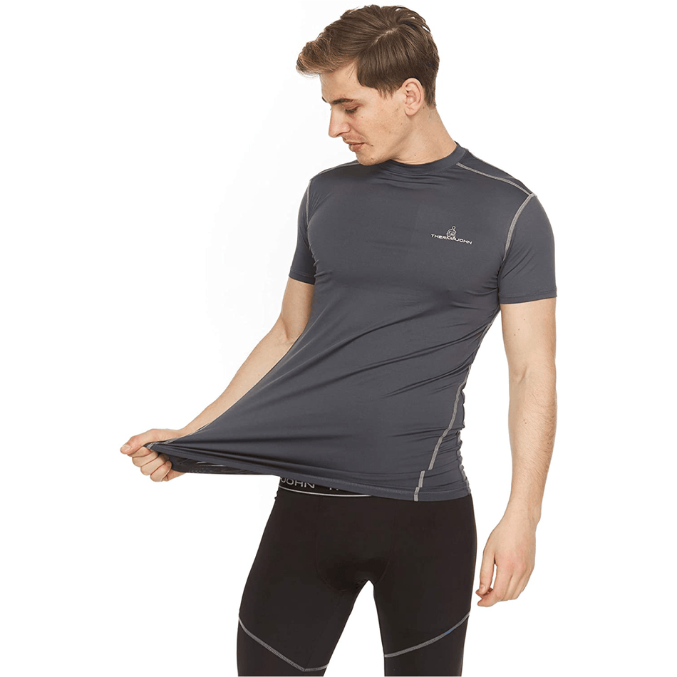 Athletic Compression Shirt - Short Sleeve Set-In - Thermaljbrands