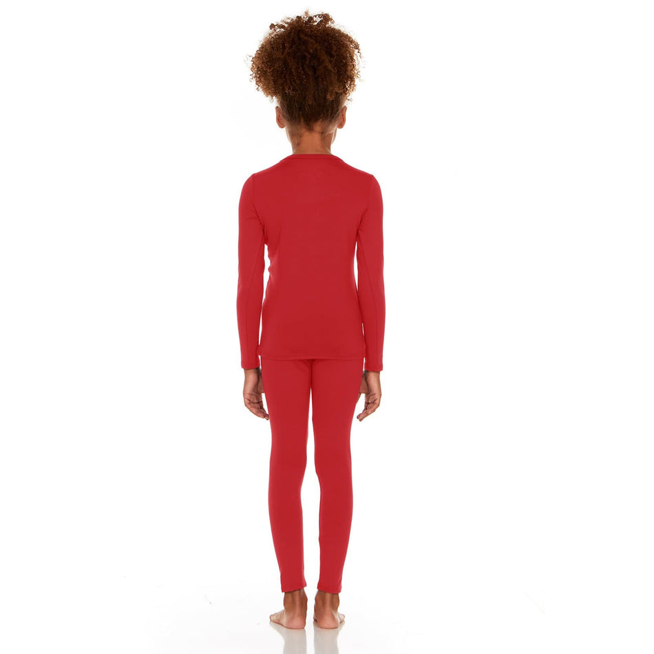 Girl's Ultra Soft Thermal Underwear Set - Thermaljbrands