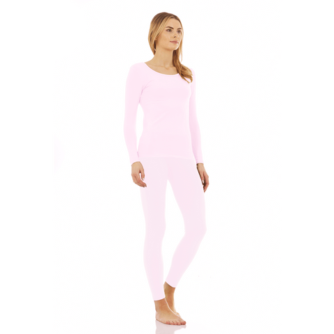 Women's Ultra Soft Thermal Scoop Neck Set - Thermaljbrands