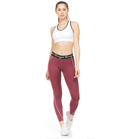 Women's Athletic Compression Pants - Thermaljbrands