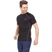 Athletic Compression Shirt - Short Sleeve Raglan - Thermaljbrands