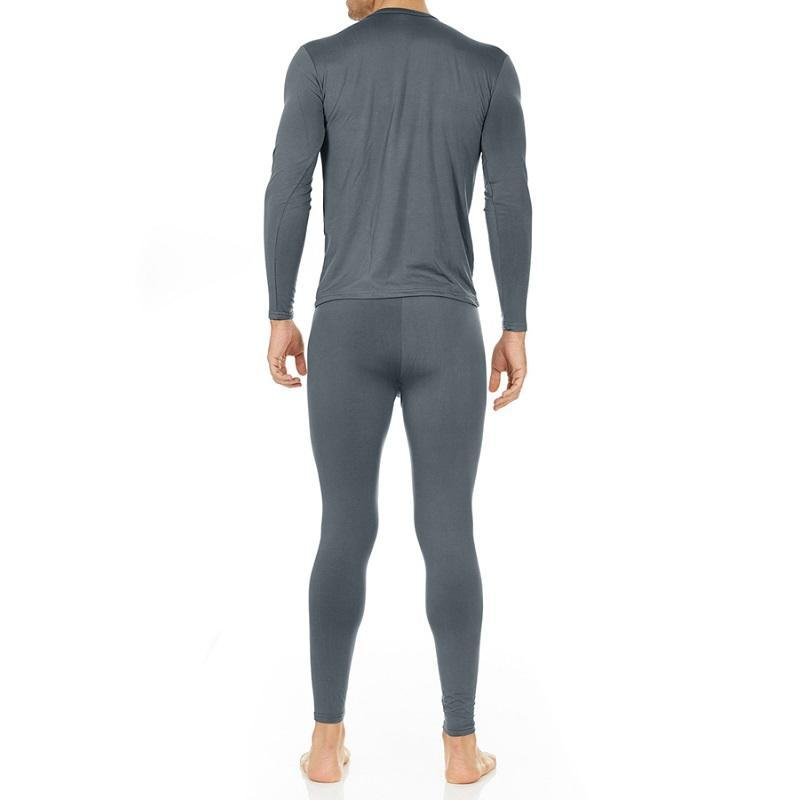 Men's Ultra Soft Thermal Underwear Set Thermalsetmen Thermajohn