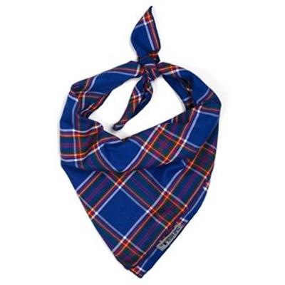 Royal Plaid Tie Bandana