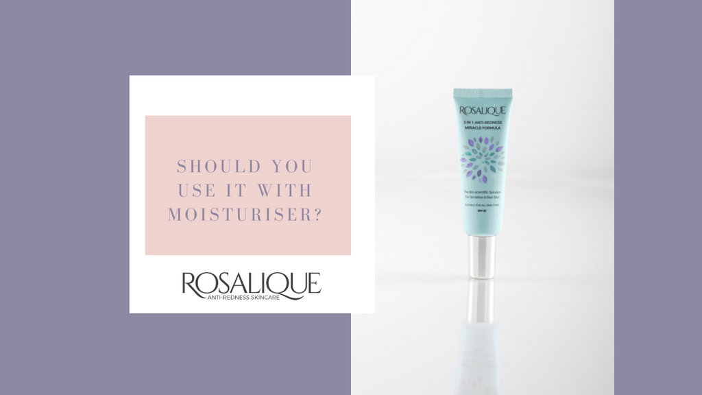 Should I use Rosalique with a moisturiser?