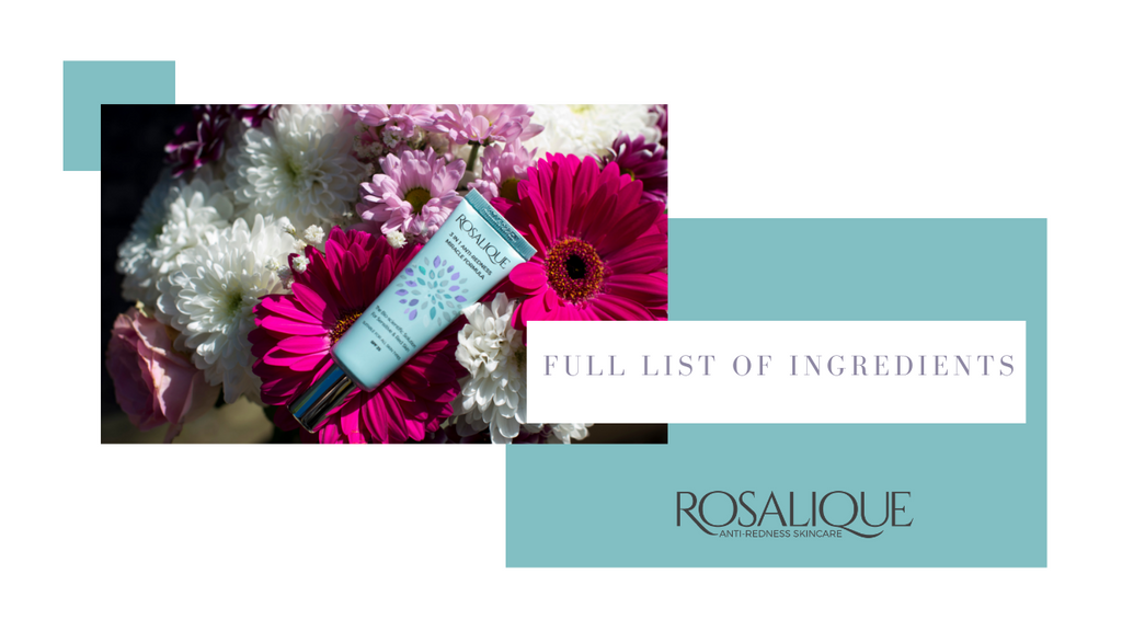 What is the full list of ingredients for Rosalique?