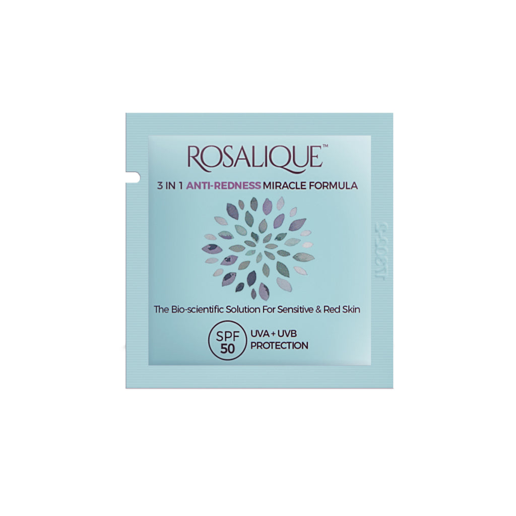 Rosalique 3 in 1 Anti-Redness Miracle Formula SPF50 Sample 3ml