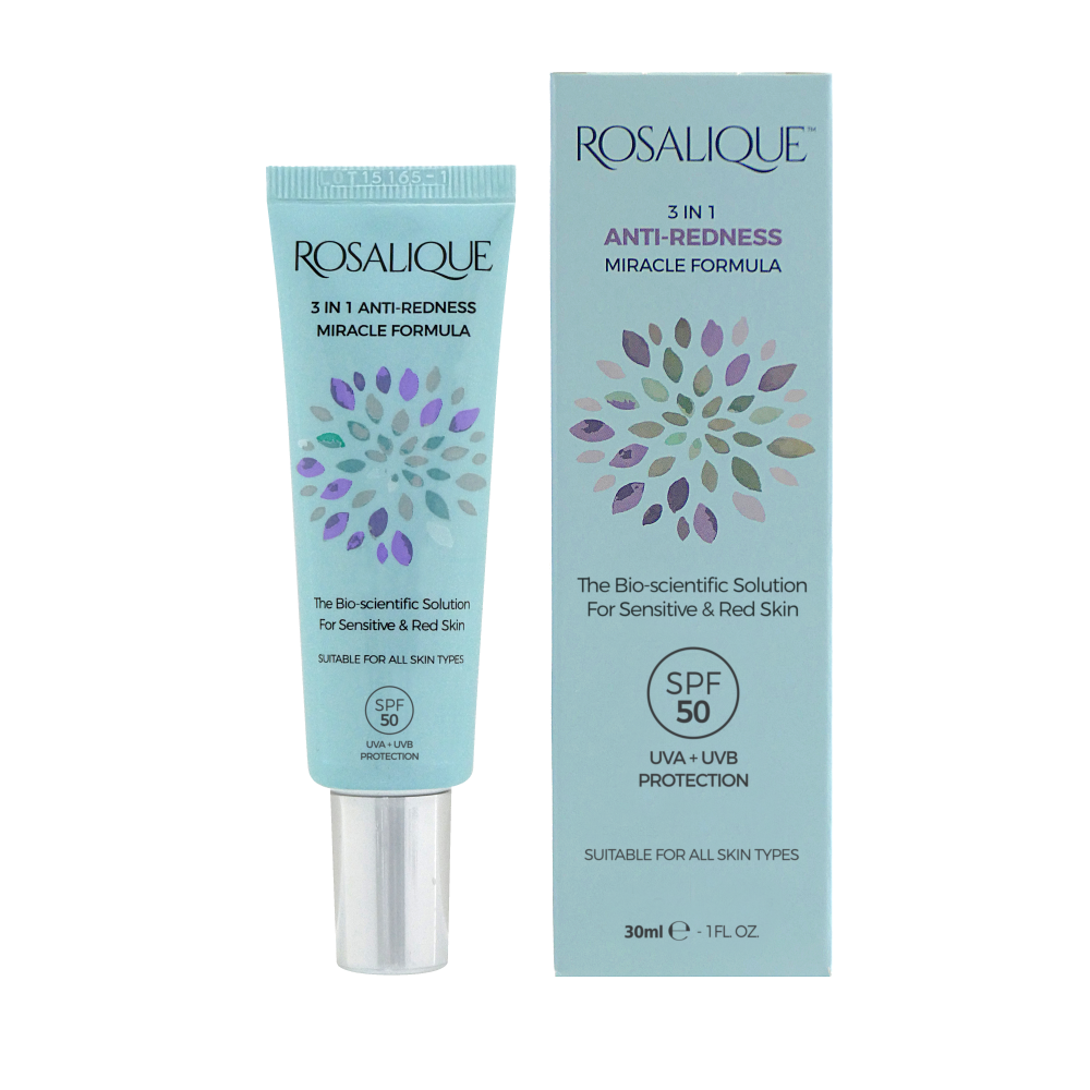 Rosalique 3 in 1 Anti-Redness Miracle Formula SPF50