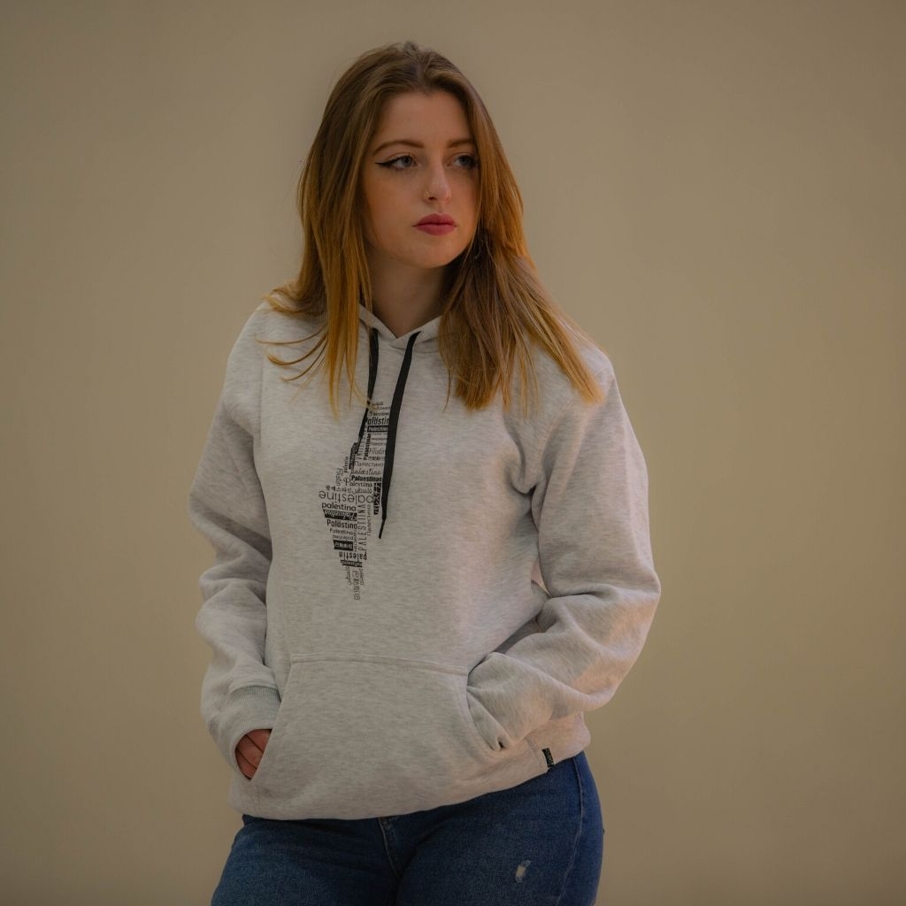 Palestine map - hoodies