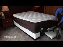 Load and play video in Gallery viewer, HUGGER BOX SOC™ - A Better Bedskirt