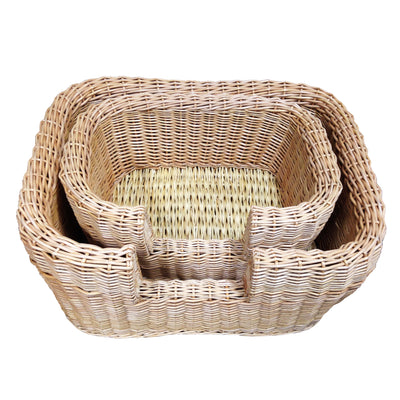 Winston Wicker Pet Bed