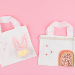 DIY Mini Easter Totes