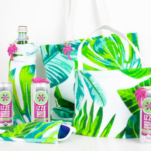 Palm Towel DIY Bags