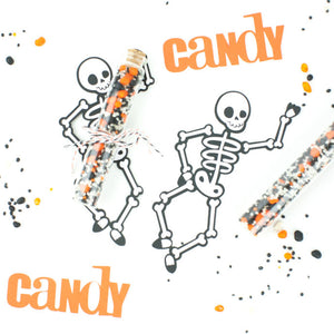 No Bones About It - DIY Skeleton Candy Favors
