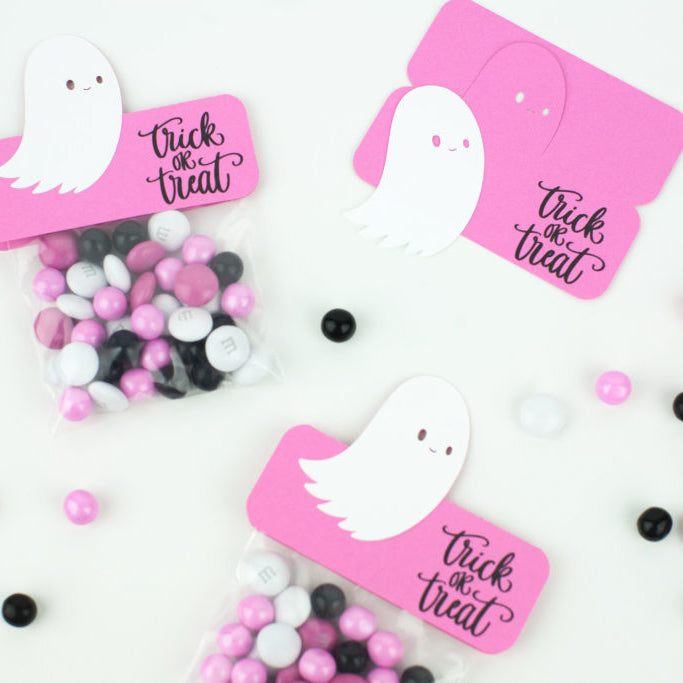 Ghostly Candy - DIY Treat Bags