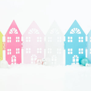 DIY Colorful House Scene
