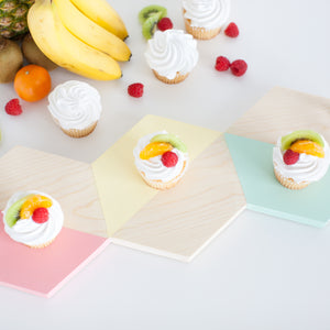 SERVE IT UP! Hexagon Serving Tray