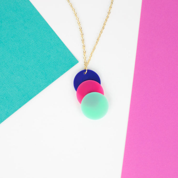 Colorful DIY Necklaces and Earrings
