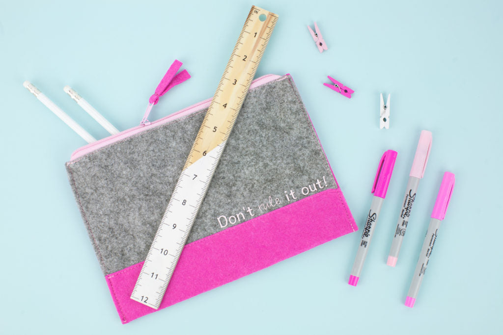 Back To School - DIY Don't Rule It Out! Pouch