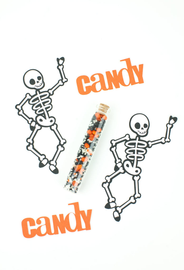 DIY Skeleton Party Favors